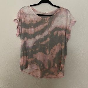 Rag and bone tied dyed t shirt